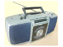 Portable CD player: