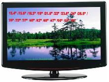 52 inch LCD TV with DVD