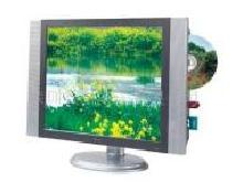 LCD TV with DVD Player Built-in