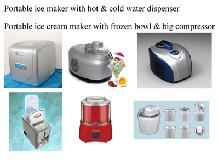 ice cream maker / ice cream machine / yogurt maker/ice maker / ice machine with water dispenser