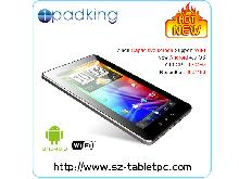 7 Inch Captacitive Screen Support Wifi Android 4.0 Tablet pc