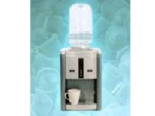 Portable ice maker with hot & cold water dispenser