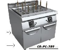 gas noodle cooker with cabinet