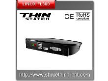 Linux thin client support Hdmi 1080P streaming media FL300