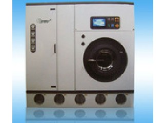 Double solvent dry clean machine
