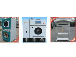 dry cleaning and ironing machine