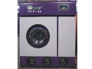 semi-automatic dry cleaning machine