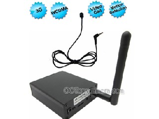 WCDMA 3G Remote Video Call Recorder Box, 3G Button Camera Box Support AV In LM-BC1119
