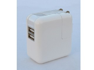 dual USB wall charger for iPhone/iPad,Samsung, US/EU/UK plugs