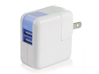 dual USB wall charger for iPhone4/iPhone4S/iPhone5,iPad,Samsung,EU/UK/US plugs