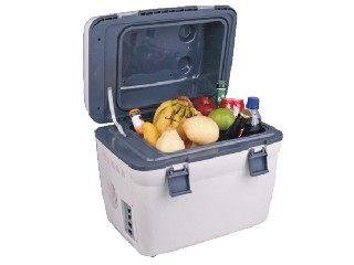 Portable car fridge, mini fridge