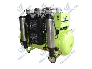 Oil Free Silent Dental Air Compressor with Air Dryer