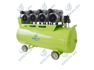 Greeloy Silent Oil Free Dental Air Compressor with CE approval