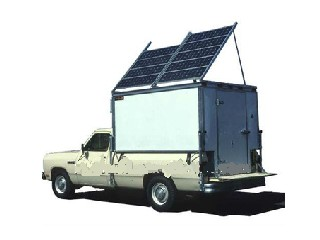 Solar Power Cold Storage Designed For Pickup Truck