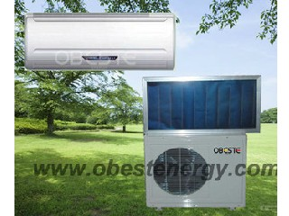 Wall Mounted Hybrid Solar Absorption Air Conditioner For Home
