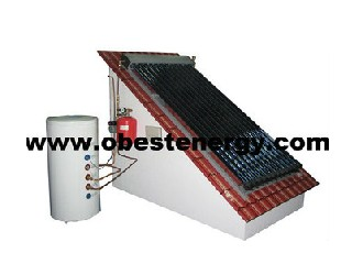 Split Pressurized Heat Pipe Solar Water Heater System