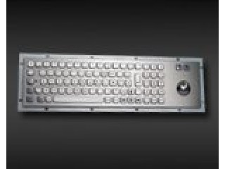 HOT!!!65 keys Kiosk keyboard with tracking ball
