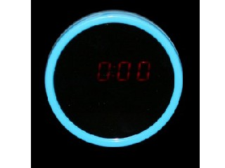LED Beauty Mirror Alarm Clock Time LCD Display (Free Shipping)
