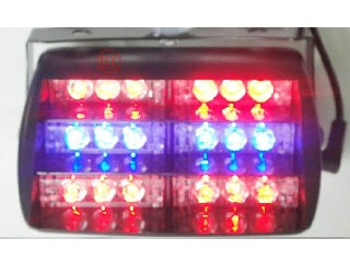 Brand new 18 LED Flash Fire Deck Dash Blink Strobe Lights