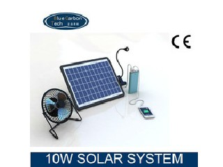 hot sale light and charger 10w solar kit