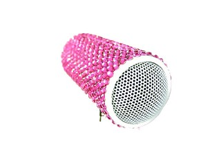 crystal Jeweled rhinestone portable pc speaker