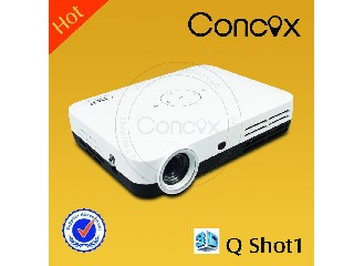 portable projector mini LED projector  Q shot1 home theater system