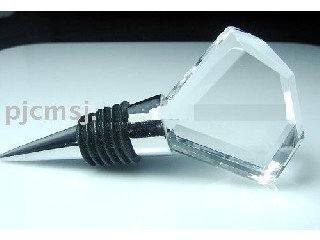 WBS-011,wine bottle stopper for corporate gift