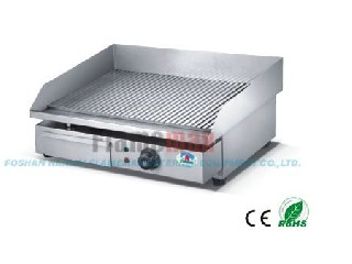 ROHS&CE electric grooved griddle