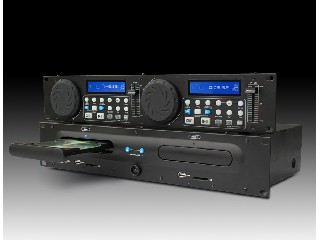 2U DUAL MP3/CD/USB/SD PLAYER
