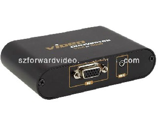 VGA to HDMI Converter with R/L Audio