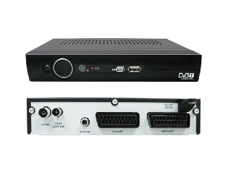 FTA DVB-T MPEG4 AVC/H.264 set top box