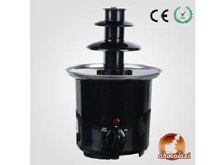 CHOCOLAZI ANT-8020 ALL Model CE&RoHS Auger 3 Tiers party home plastic mini chocolate fountain machin