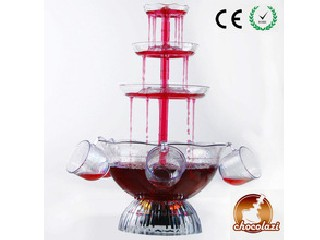 CHOCOLAZI ANT-8010 3 tiers Plastic Home Punch bowl cocktail wine fountain Plastic Wine Fountain