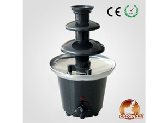 CHOCOLAZI ANT-8030 ALL Model 3 tiers wholesale Mini Home Chinese plastic chocolate fountain