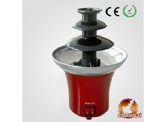 CHOCOLAZI ANT-8020 ALL Model CE&RoHS Auger 3 Tiers party home plastic mini Family chocolate machine