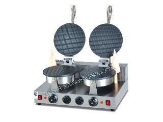 commercial waffle maker with stainless steel