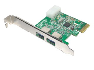 PCI Express USB3.0 card 2 Ports (FL1009)