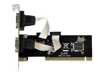 PCI 2 Ports Serial Card