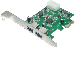 PCI Express USB 3.0Card 2 Ports
