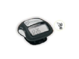 Pedometer with FM SCAN RADIO