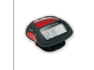 Pedometer with emergency  alarm