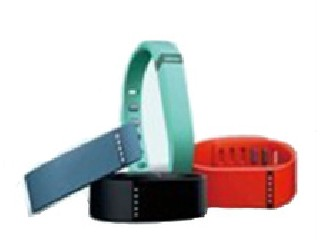 Bluetooth 4.0 Rechargable wristband pedometer