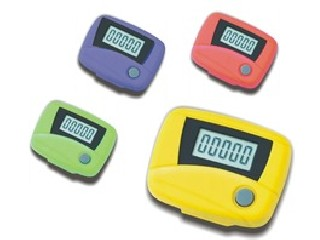 popular stylish promotional step counter with digital pedometer