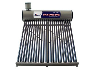 Copper coil solar water heater04