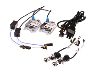 HID Conversion Kit,Slim ballast Canbus Duo+Hi/Lo beam,One control harness.