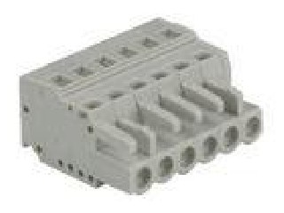 2P - 24P 300V 16A Female MCS Connector SP450/SP458 with 8 - 9 mm Strip