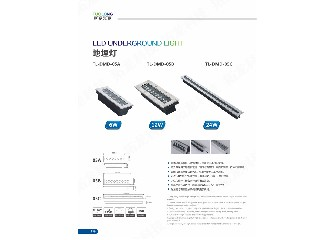 liner type led inground light IP67 led lighting