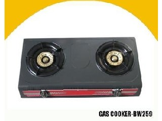 Table Non Stick Gas Cooker(2 Burner)