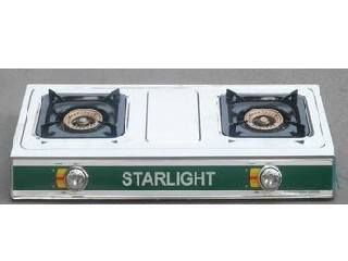 Table Stainless Steel Gas Cooker(2 Burner)