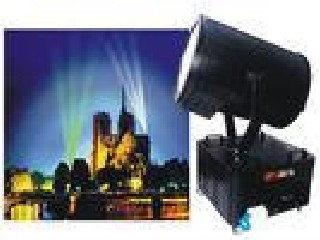 Outdoor Stainless Moving Head Search Light For High Building With LCD Show, Strobe